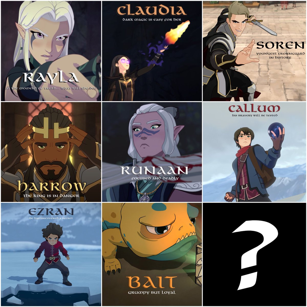 Who are the main characters of the fairy tale The Sea King and Vasilisa the Wise