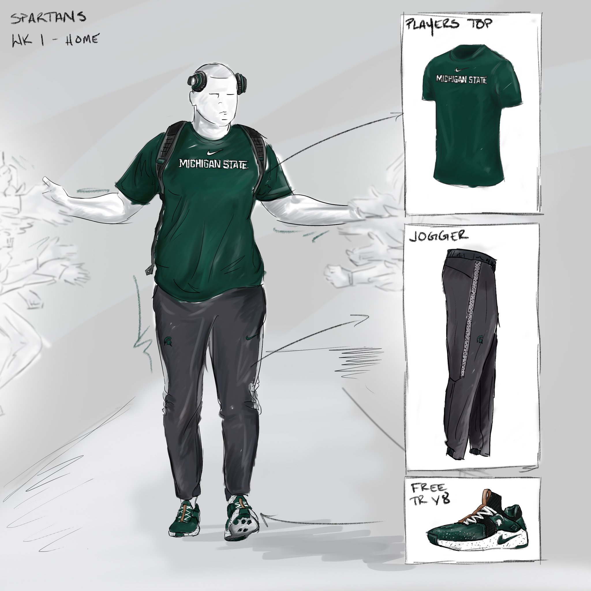 Pre-game day threads for week 1. Coaches sideline gear ��.  Shop now at https://t.co/CDlulp9dV2 #GoGreen #Heave https://t.co/IV7qm9GMUF