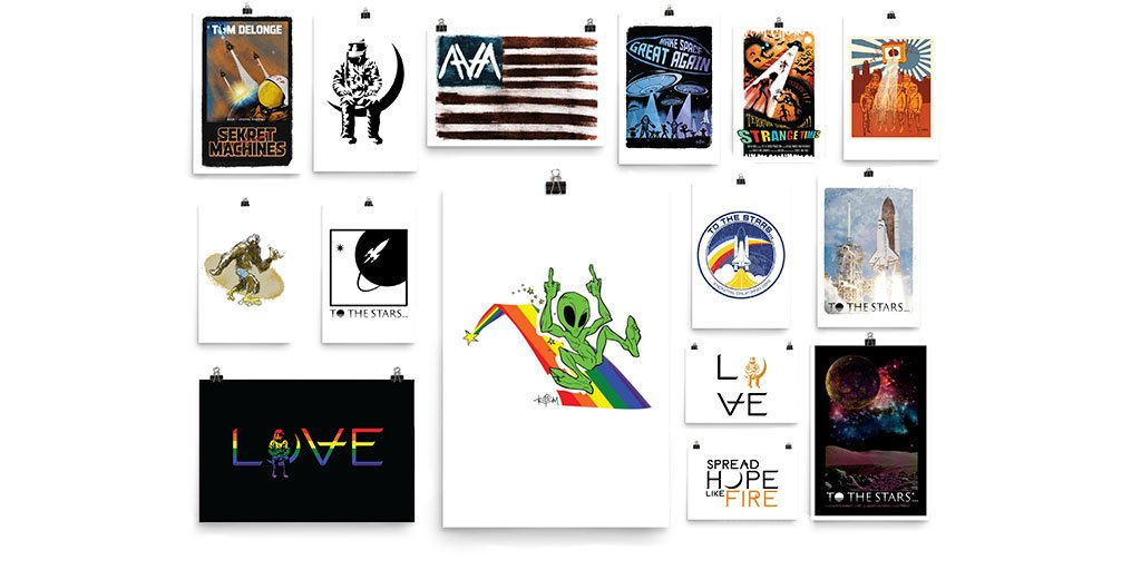 Primo Poster Online Pop-Up Shop only available until Monday. Get some of your favorite graphics as prints for your house! Shop now. tothestars.media/collections/po…