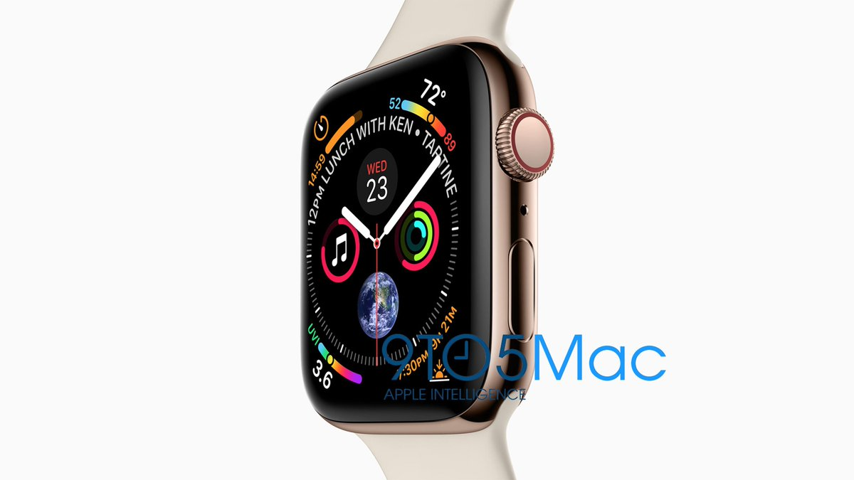 Exclusive: Apple Watch Series 4 revealed — massive display, dense watch face, more https://t.co/Fwg5kH6dEL by