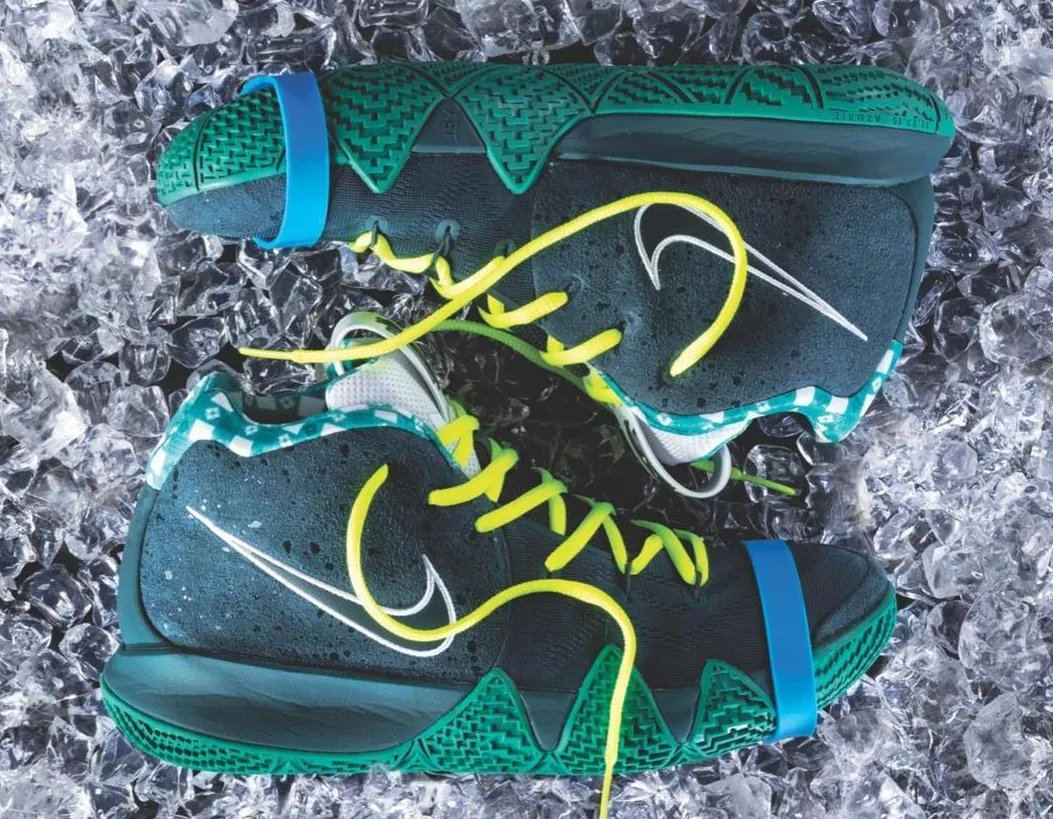 exclusive details on the cncpts nike kyrie 4 green lobster release 14dc75193