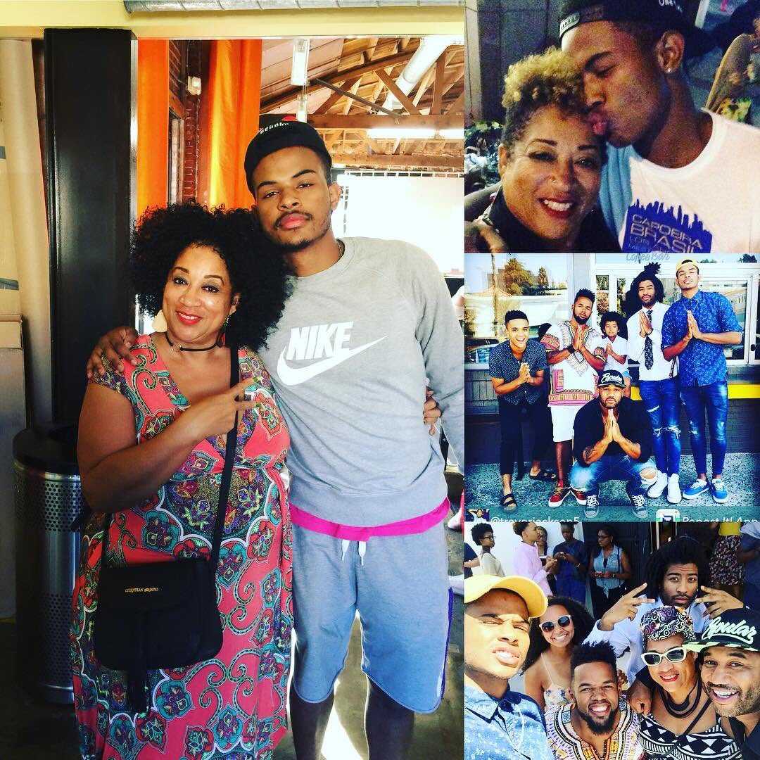 Trevor Jackson And His Family