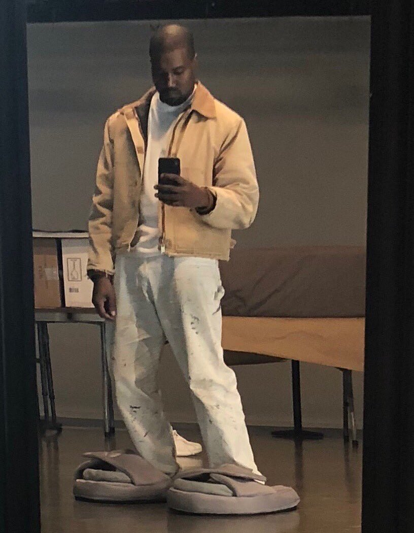 71dd5a2001e71 kanye west made sure his new yeezy slides arent too small