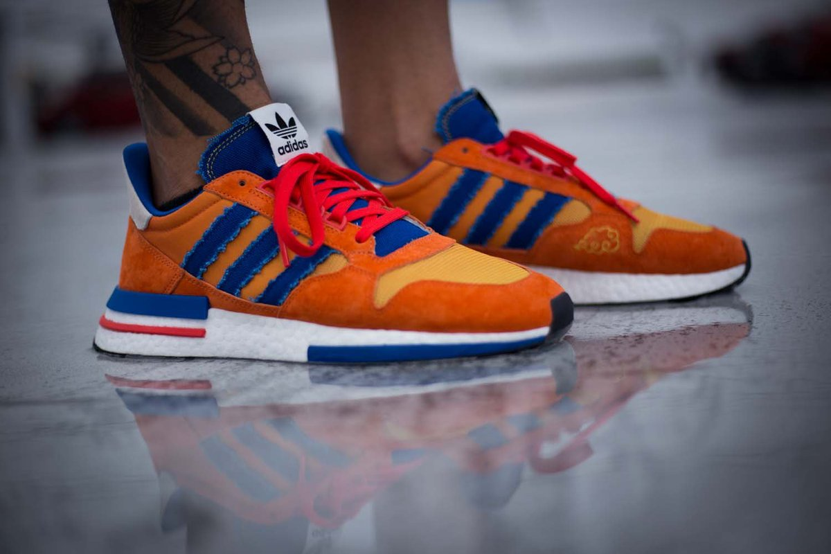 b48fa416450c0 On Foot Look at the upcoming Dragon Ball Z x adidas ZX 500 RM