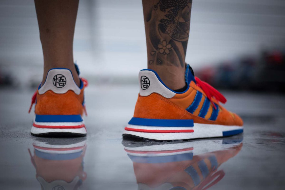 3df2dc0bd36e On Foot Look at the upcoming Dragon Ball Z x adidas ZX 500 RM