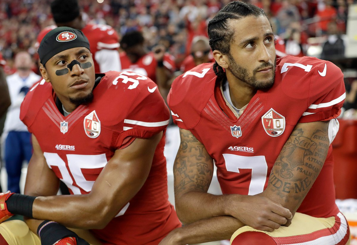 BREAKING: Colin Kaepernick's case accusing the NFL and team owners of  colluding to keep him