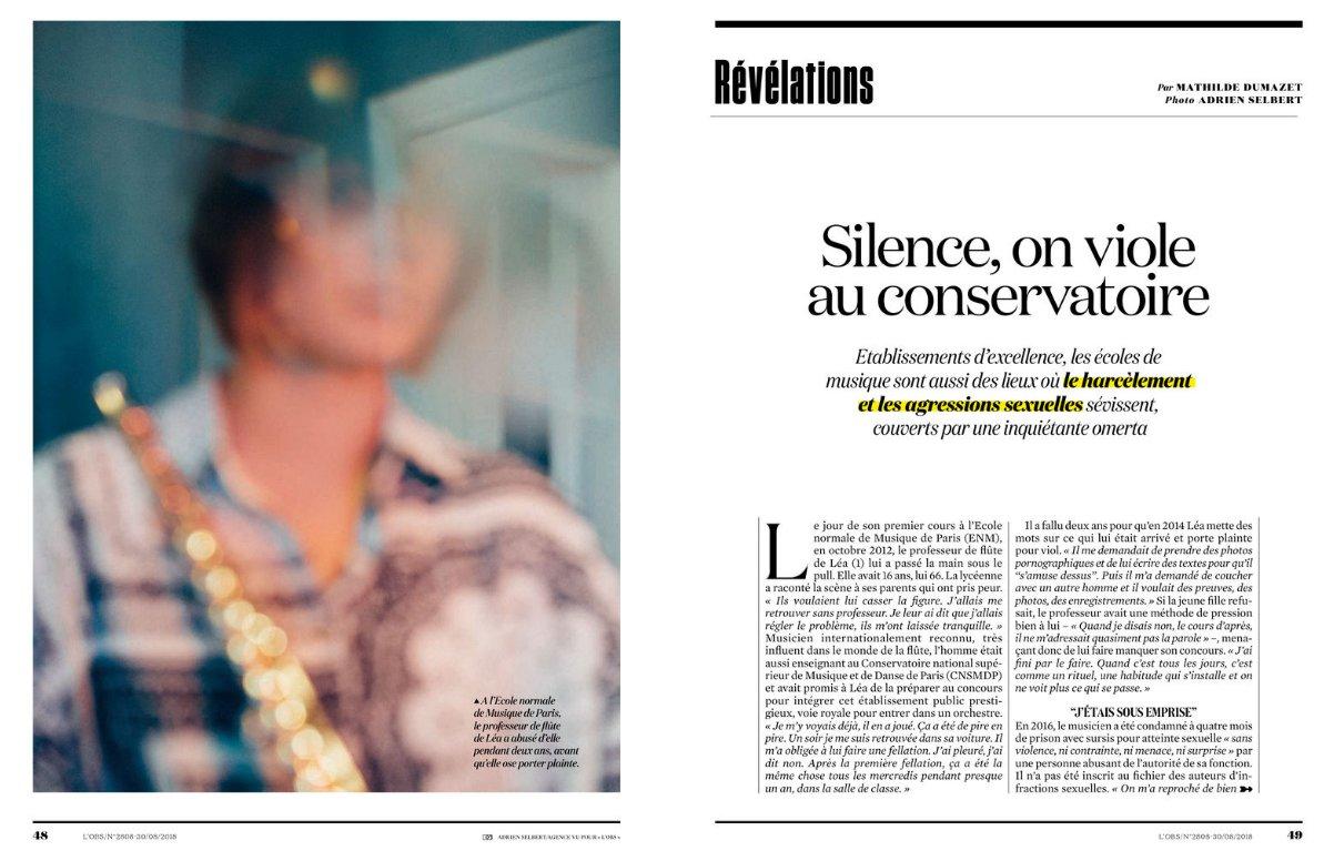 silence, on viole au conservatoire
