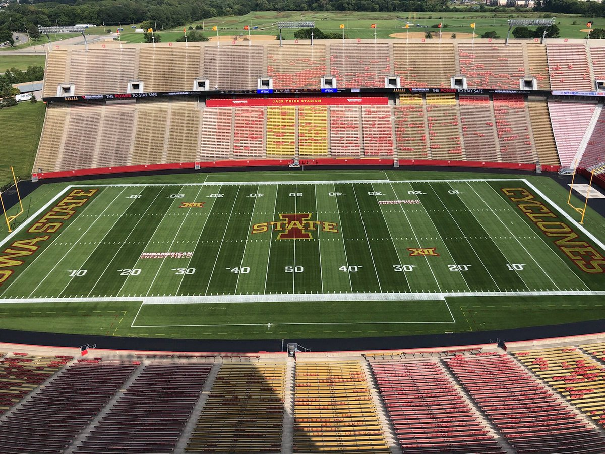 """Cyclone Football on Twitter: """"The best turf crew in the ..."""