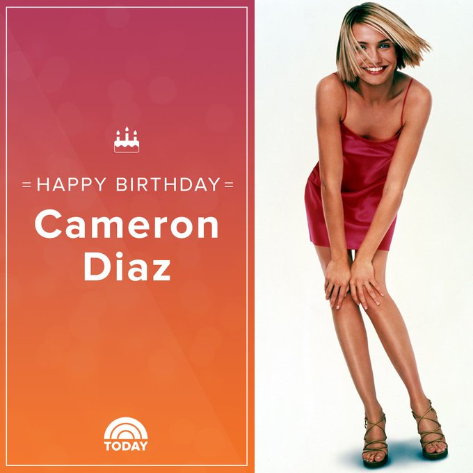 Happy birthday, Cameron Diaz!