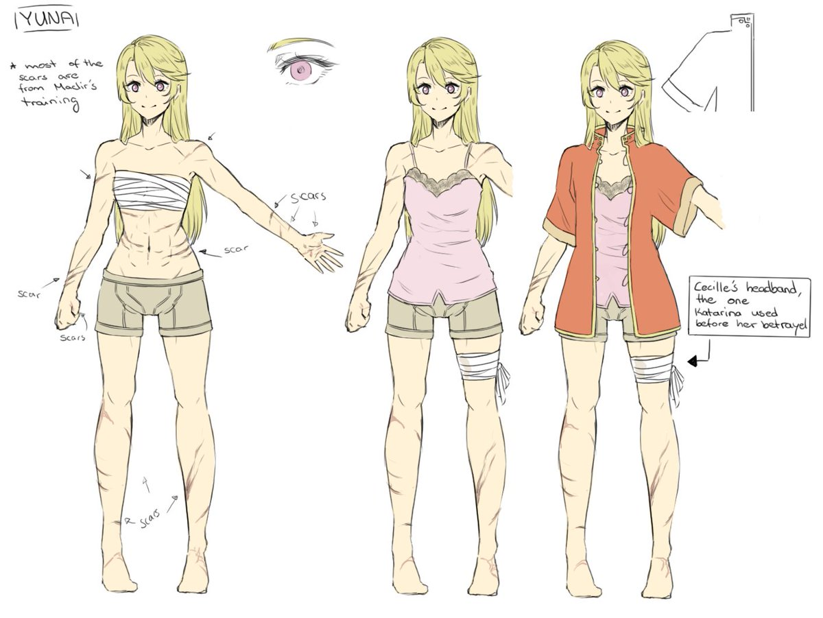 Lithy On Twitter Here Is The Concept Art Sheet For