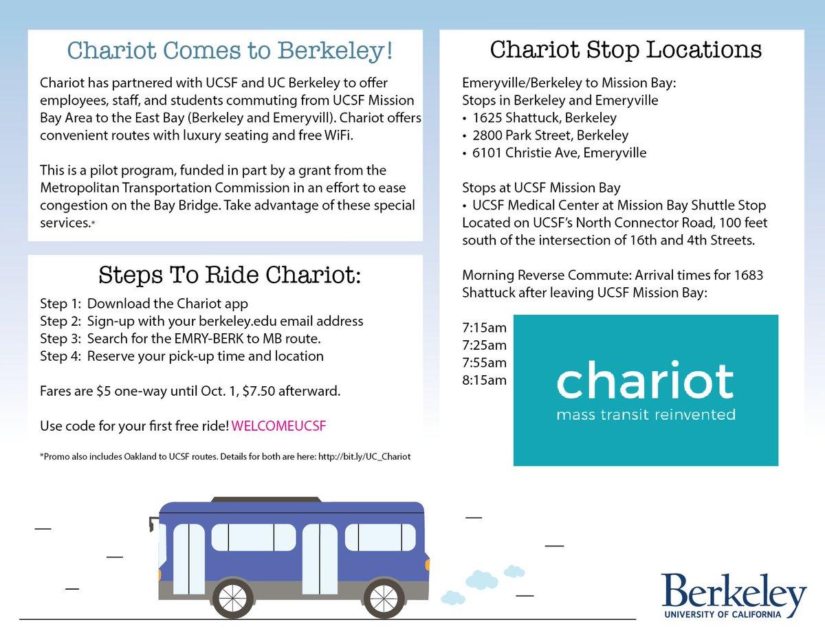 UC Berkeley Parking & Transportation on Twitter: