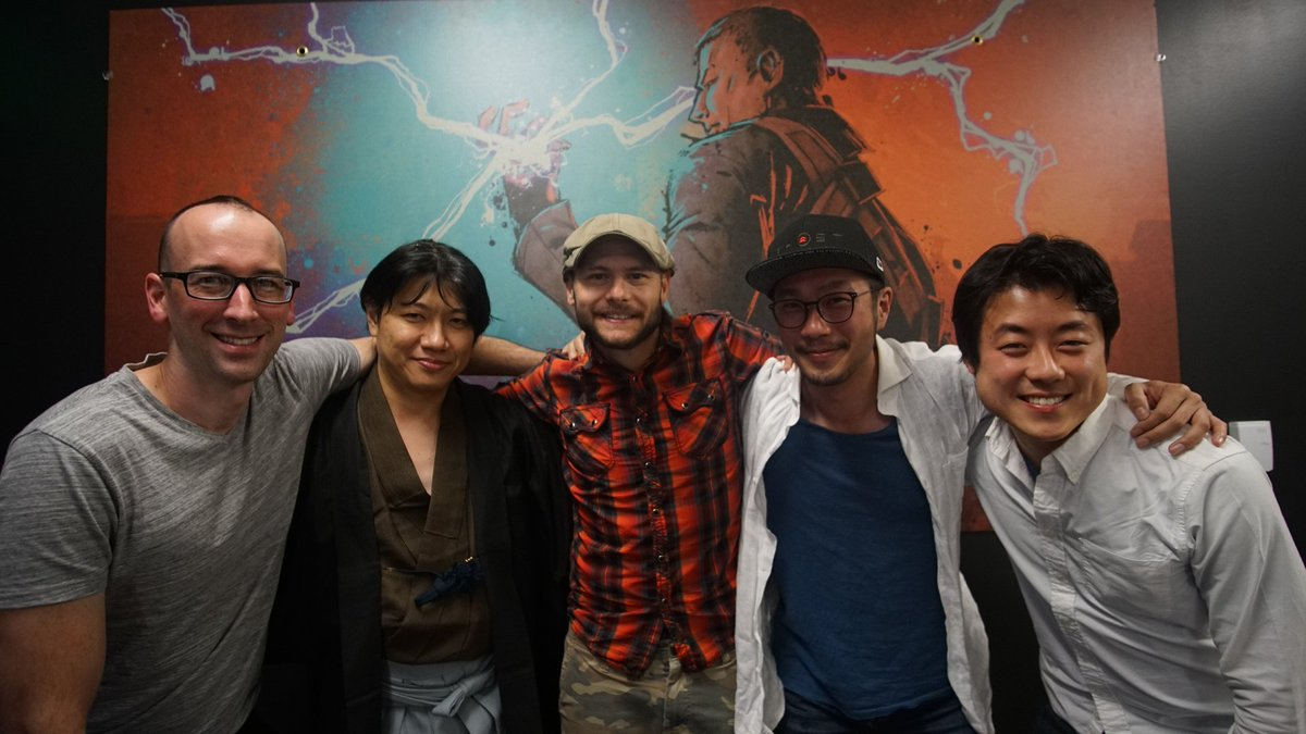 Thank you so much for reminding us how special our jobs are! @ideryusetsu @kuwamimasakumo #GhostofTsushima