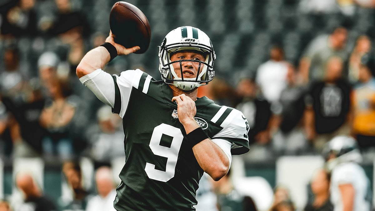 New York Jets On Twitter John Wolford Is Now In At Qb Nyjvsphi