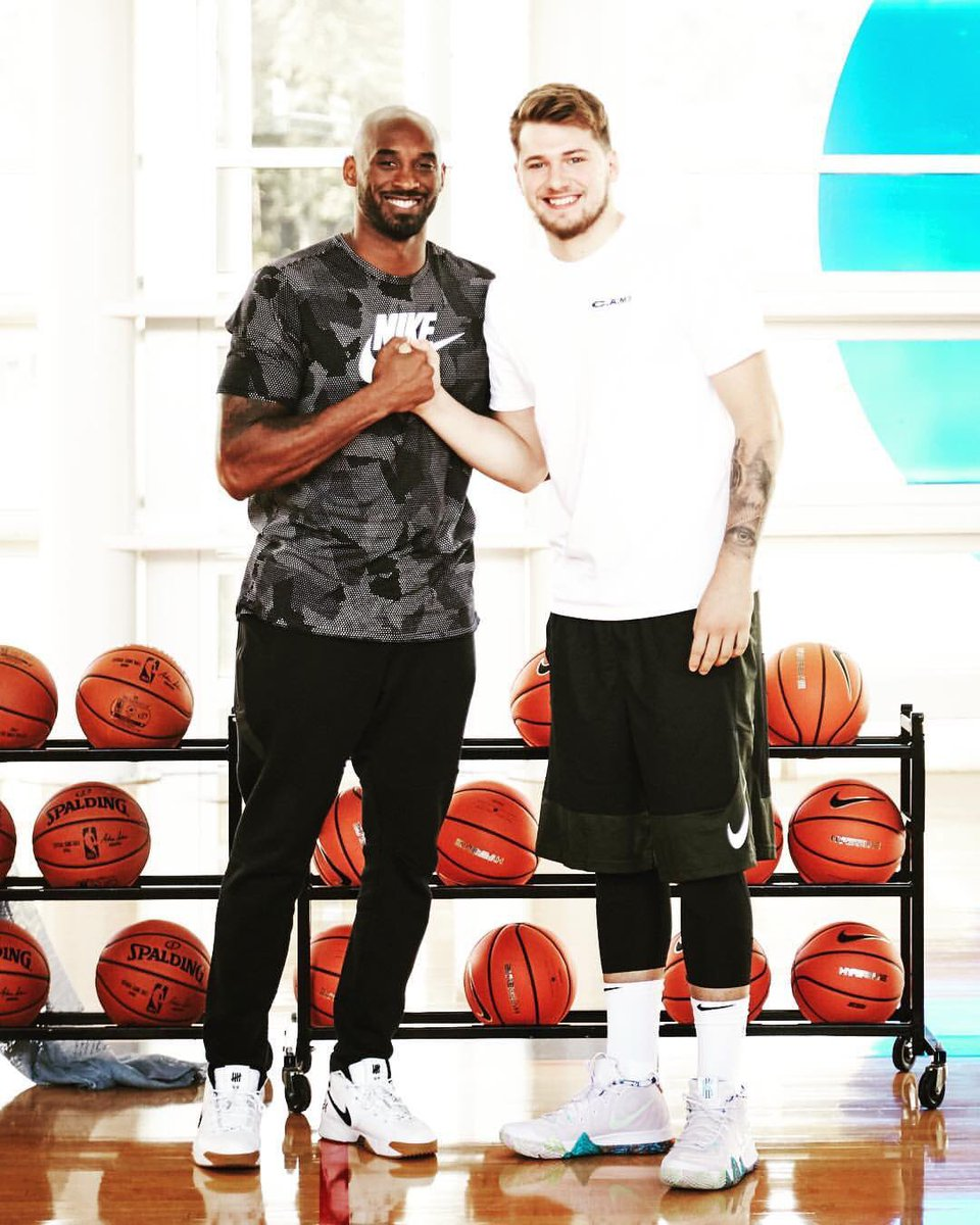 "8a95c70667e7  SoleWatch   kobebryant wearing the UNDFTD x Nike Zoom Kobe 1 Protro     luka7doncic rocking the ""90s"" Kyrie 4.pic.twitter.com tFKoAWGYTv"