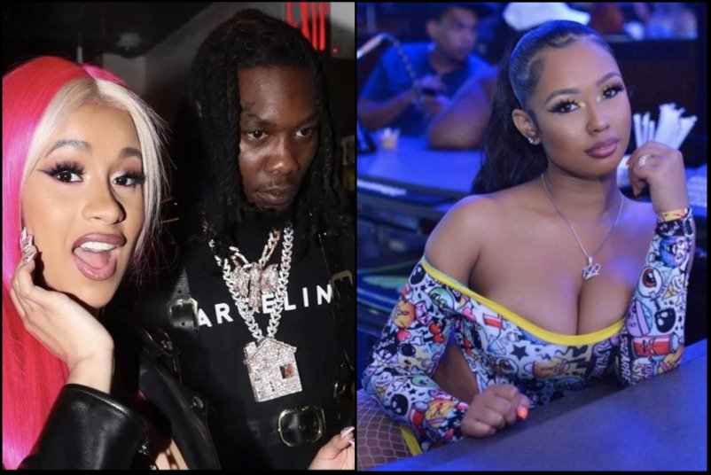 Offset Replies Angrily On Ig To Rumors That Cardi B Beat Up His Alleged Stripper Sidechick At The Strip Club Last Night Dms Ig Photos