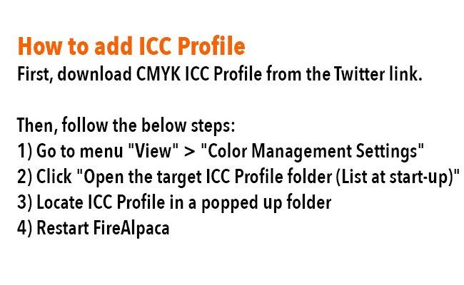 Easily Add Icc Media Profiles — Totoku