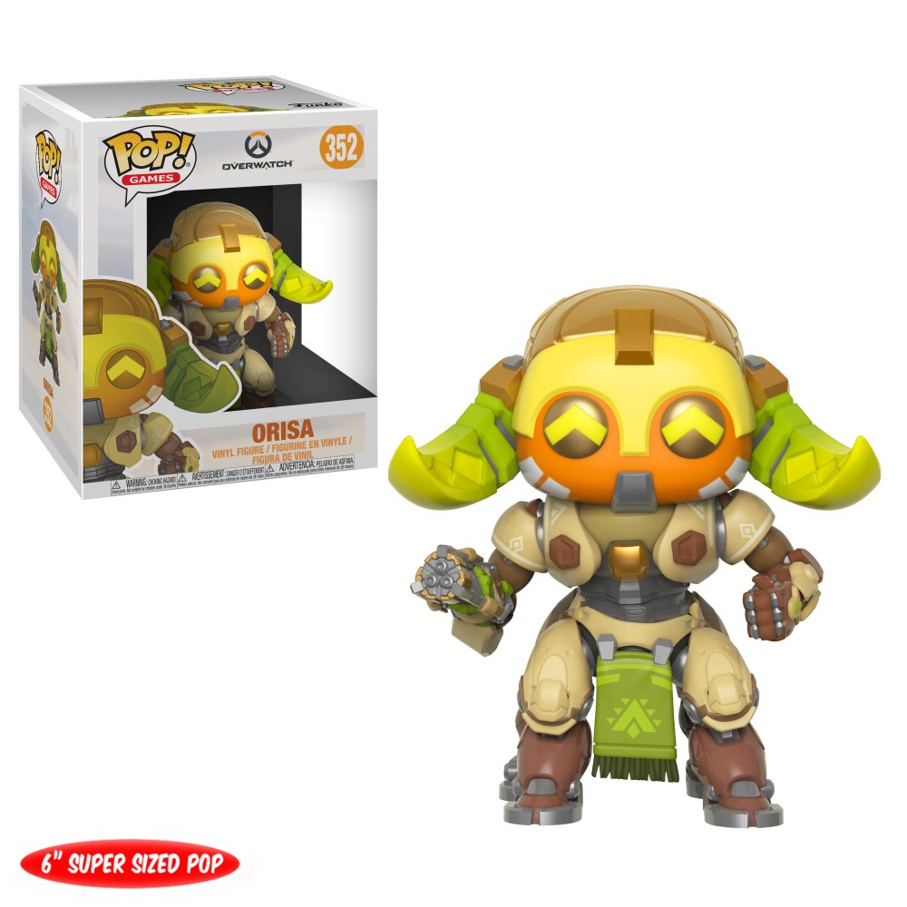 RT & follow @OriginalFunko for the chance to win a 6-inch Orisa Pop! #Overwatch