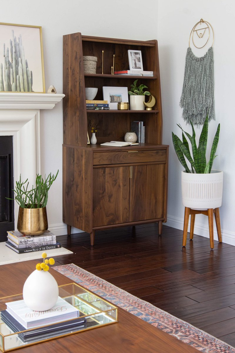 Sauder Furniture On Twitter A Stylish Bookshelf That Doubles As