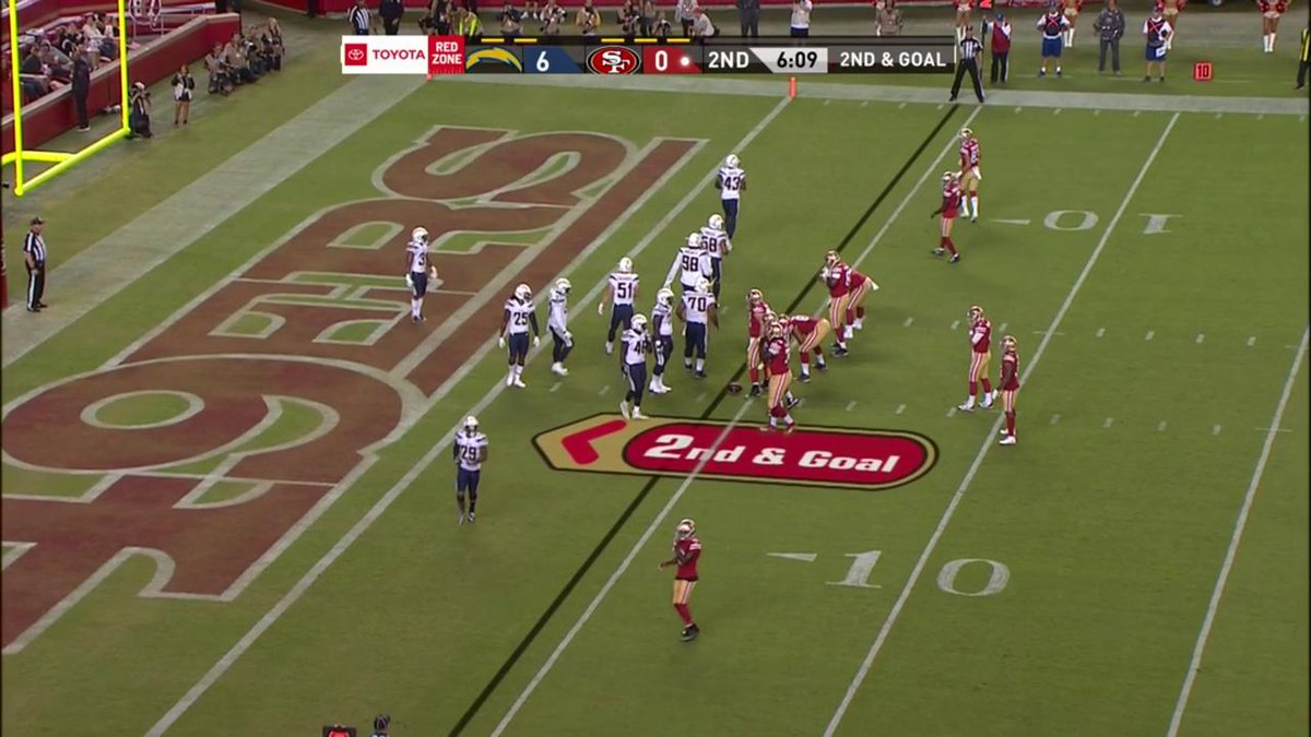 This At Nickmullens Td Puts The 49ers Ahead Catch Lacvssf On
