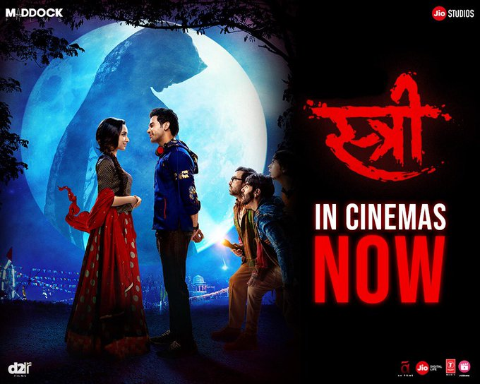 It's time to meet her!  #Stree is now playing at a theatre near you! Book now: https://t.co/xvWWO27Ozm @RajkummarRao