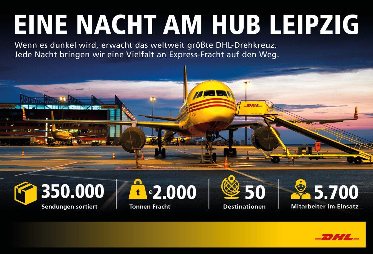 Happy Birthday! Wir feiern 10 Jahre #DHL Hub Leipzig. @DHLexpress #DHLExpress #DHLHub10