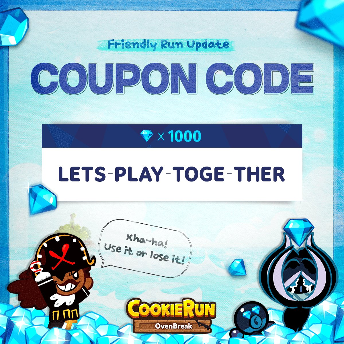 new cookie run coupon code 2019