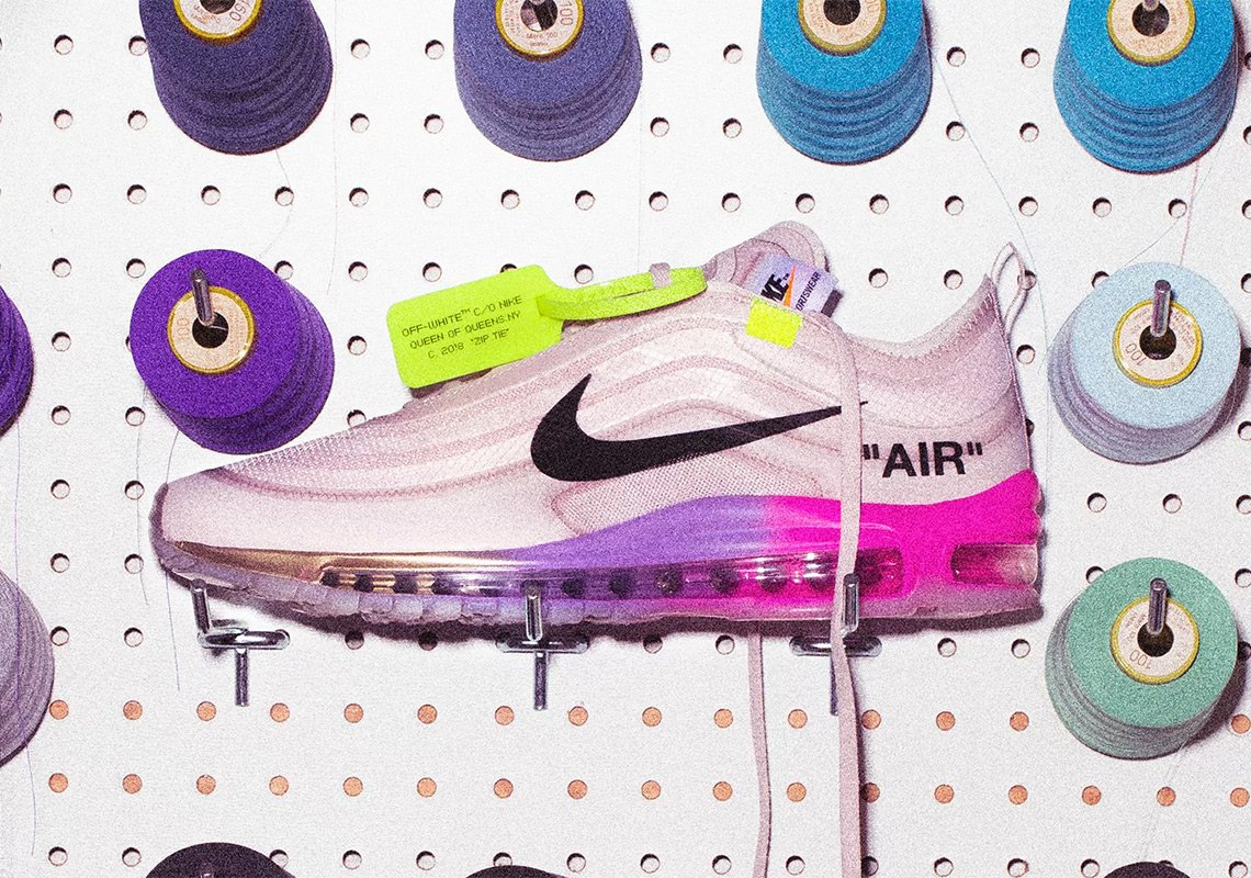 """... x Serena Williams x Nike Air Max 97 """"QUEEN"""" https   thesolesupplier .co.uk news uk-release-happening-off-white-x-serena-williams-x-nike-air-max- 97-queen  ... 7335adff4"""