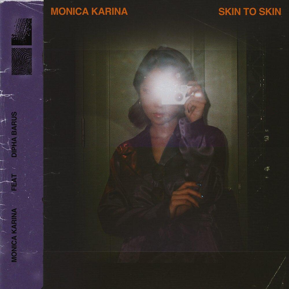 """Debut single @_monicakarina """"Skin To Skin"""" feat @diphabarus sudah tersedia di semua digital platform dan bisa di request di seluruh radio di Indonesia #SkinToSkin"""
