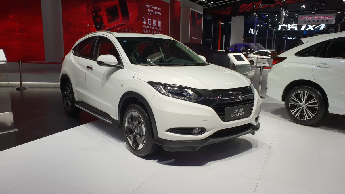 "gaadiwaadi™ on twitter: ""india-bound honda hr-v (creta-rival) at"