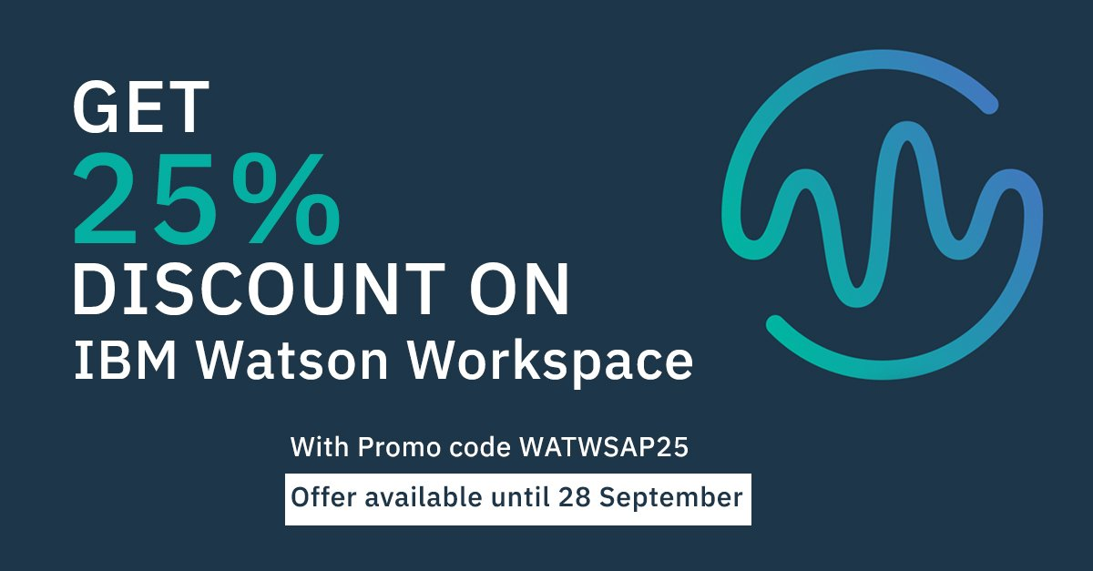 Purchasing Power Promo Code >> Ibm India On Twitter Use Promo Code Watwsap25 To Avail 25