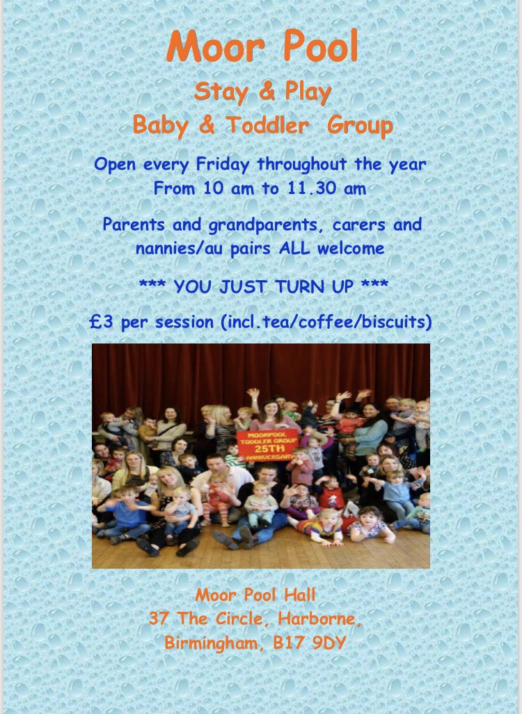 Image result for moor pool toddler group