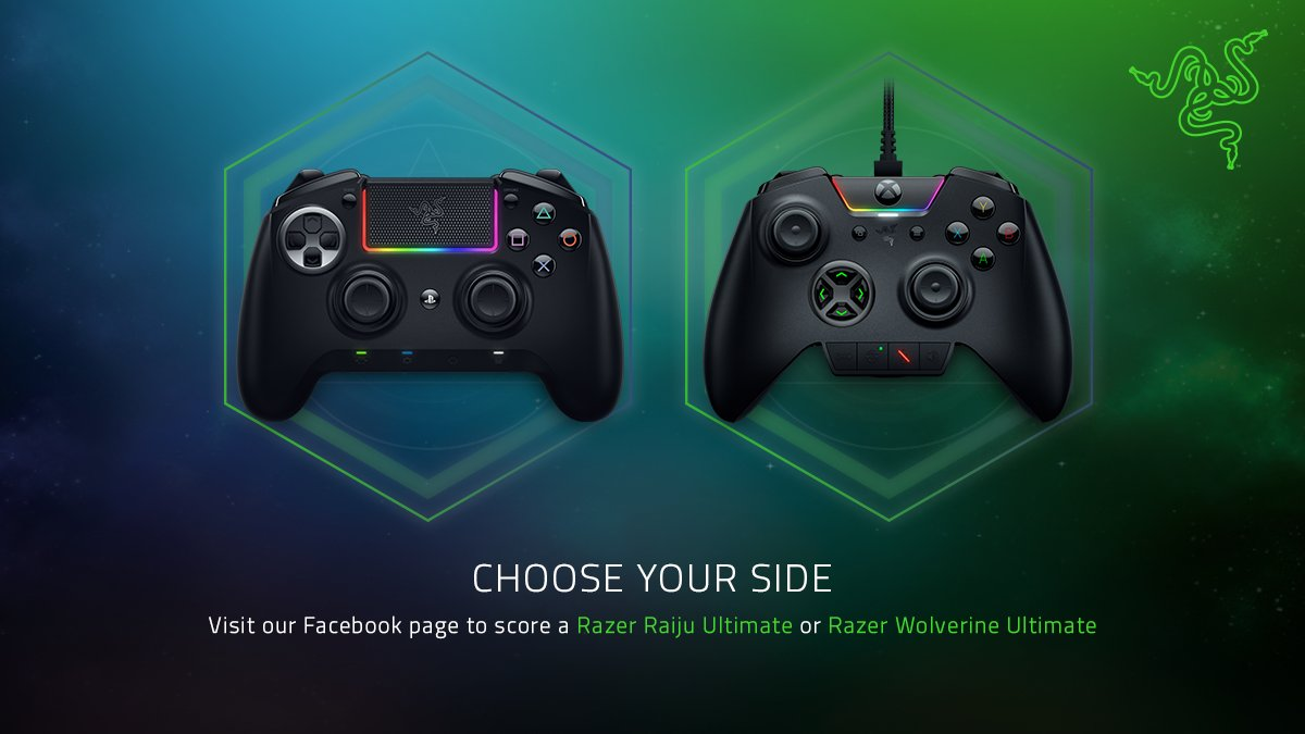 R L Z 3 R On Twitter Are You Team Raiju Or Team Wolverine Join Our Contest On Facebook For A Chance To Score The Razer Raiju Ultimate Or Razer Wolverine Ultimate Hot promotions in razer raiju ultimate on aliexpress if you're still in two minds about razer raiju ultimate and are thinking about choosing a similar product, aliexpress is a great place to compare prices and sellers. razer raiju ultimate