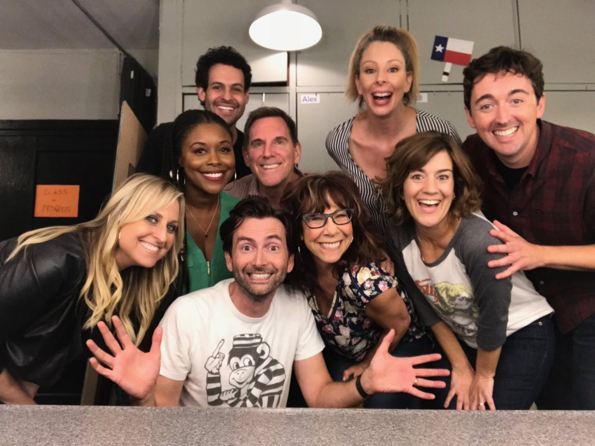 The cast of Cookin' With Gas -
