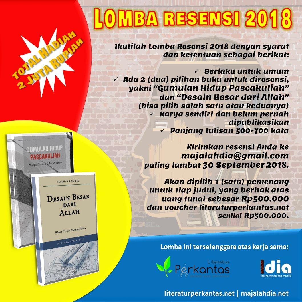 Lomba Resensi 2018