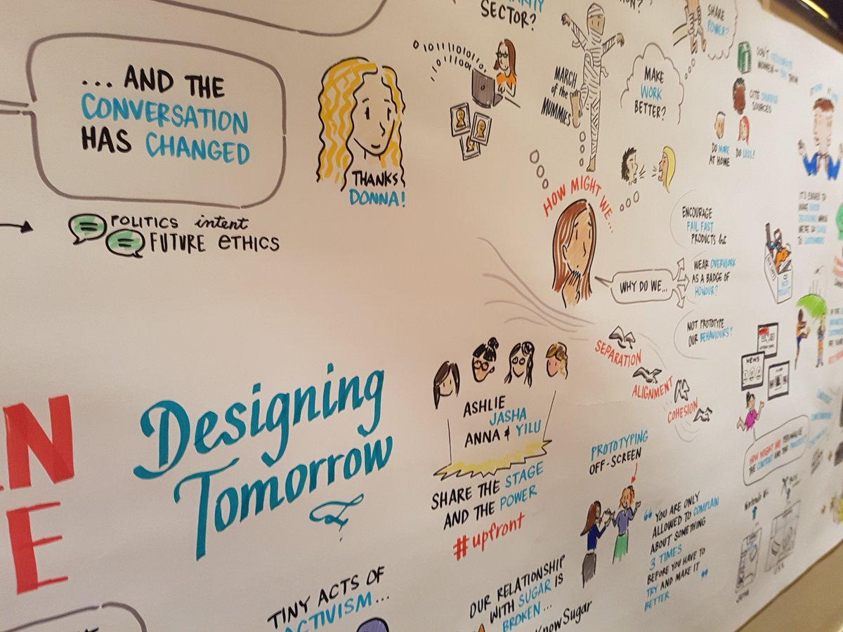Gorgeous work as always from @SketchGrp. Works of art, every one. #uxa18 https://t.co/48fvz8Knou