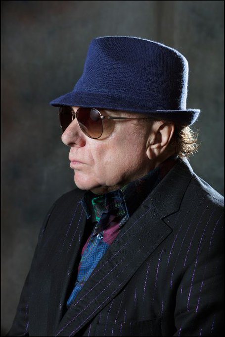Happy Birthday Van Morrison! He\s 73 today.