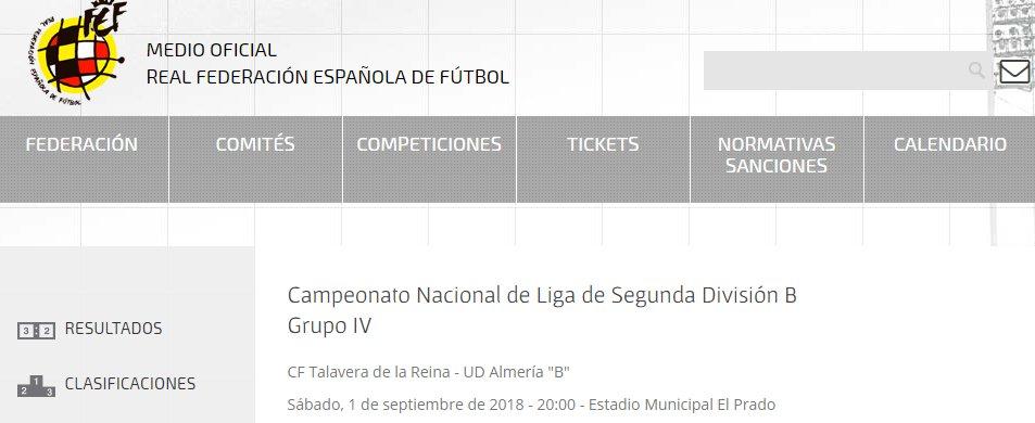 C.F. Talavera (Oficial) on Twitter: \