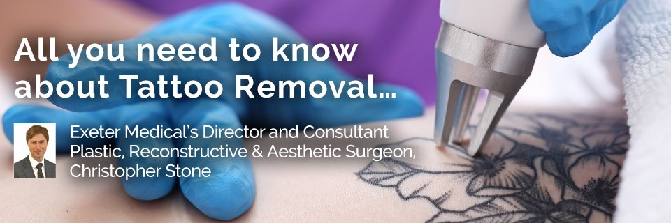 Exeter Medical's Director and Consultant Plastic, Reconstructive & Aesthetic Surgeon, Christopher Stone, provides an informative summary and step-by-step guide for those seeking tattoo removal at Exeter Medical. https://t.co/xKvpseMreD https://t.co/5mcMPd0Sgo