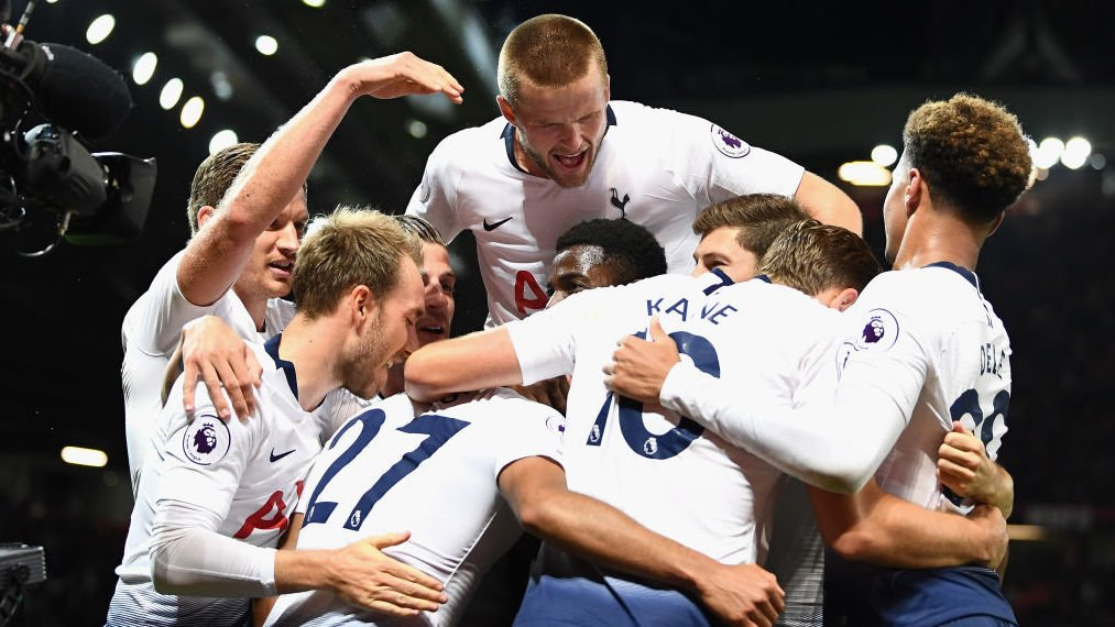 Tottenham Hotspur's photo on last man