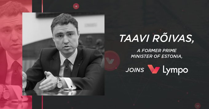 Former Prime Minister Of Estonia Joins Baltic Blockchain Startup