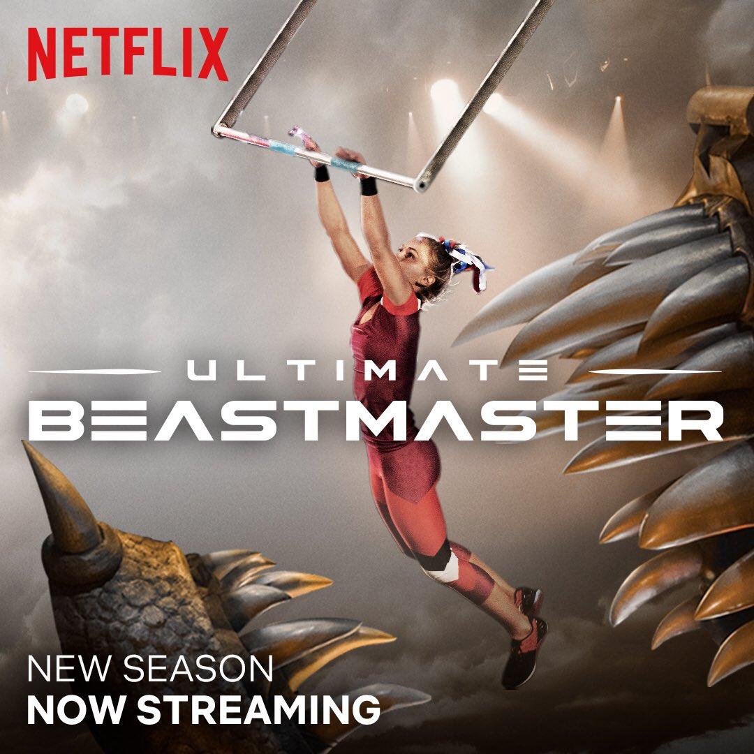 Fala meu povo! É hoje Sexta feira a estréia da nova temporada do Ultimate Beastmaster você não pode perder por nada essa  temporada.🐉 #UltimateBeastmaster