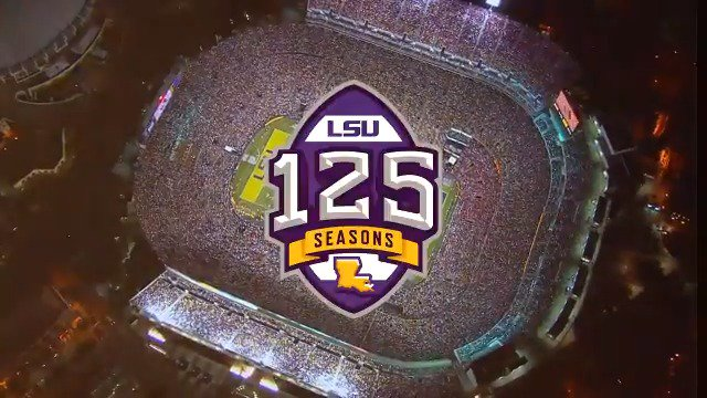 125 Seasons in 125 Seconds. This is the Glory of the Purple & Gold. This is LSU Football.