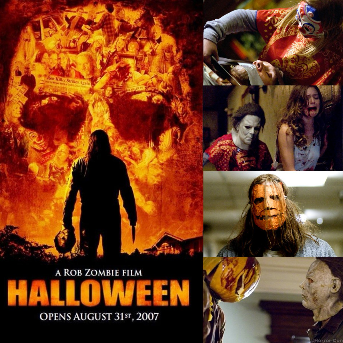 """horror-con on twitter: """"11 years ago today, rob zombie's halloween"""