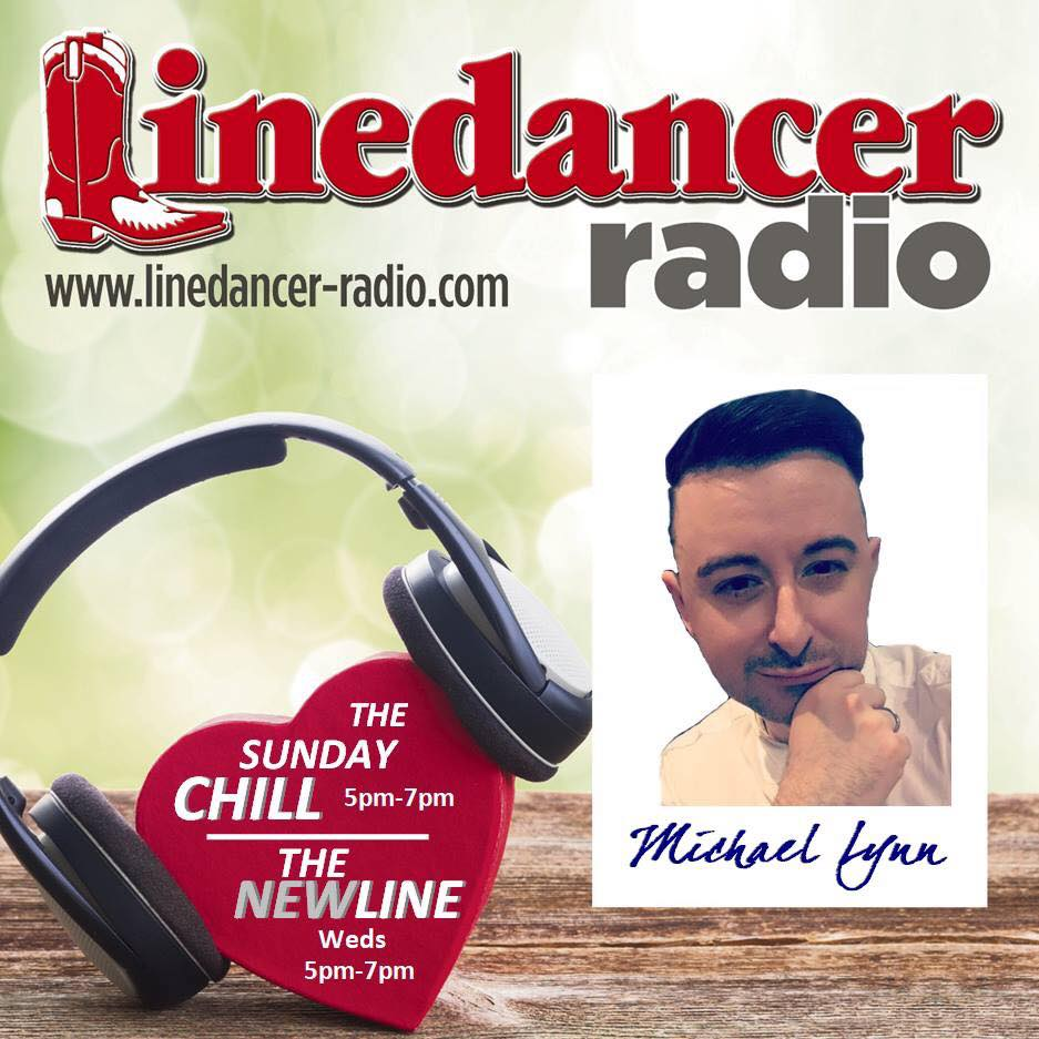 """""""The Sunday Chill"""" with @mceyedol. From 5-7pm I will be playing you all the downtempo moments of linedance. We'll have nightclub 2steps, waltz's, rolling counts, west coast swing, anything that's laidback and perfect for chilling to. #thesundaychill #ldr #michaellynn"""