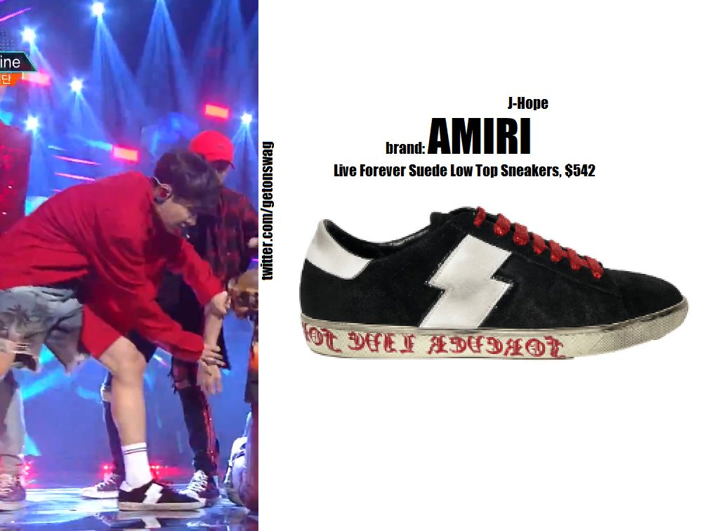 amiri live forever sneakers