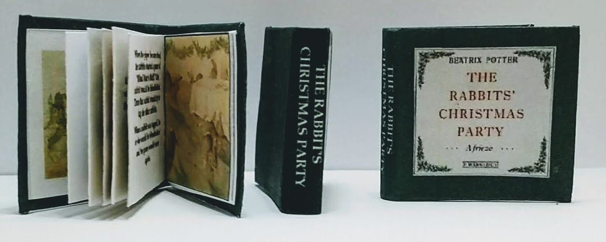 A 1:12 SCALE MINIATURE BOOK NOW WE ARE SIX A MILNE COMPLETE