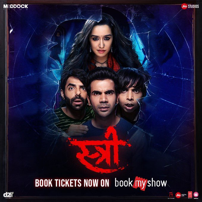 Milegi milegi..theatre mein milegi! Book tickets for #Stree now: https://t.co/xvWWO27Ozm #StreeInCinemasNow