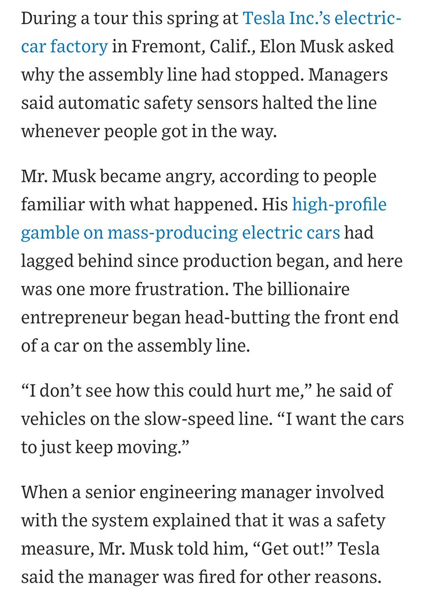 The Billionaire Entrepreneur Began Head Butting Front End Of A Car On Assembly Line