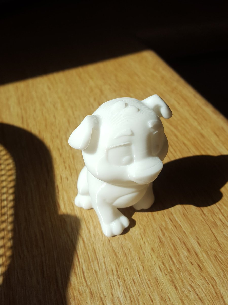Another wee pic of Nico from the @Creality3dprint Ender 3. ...