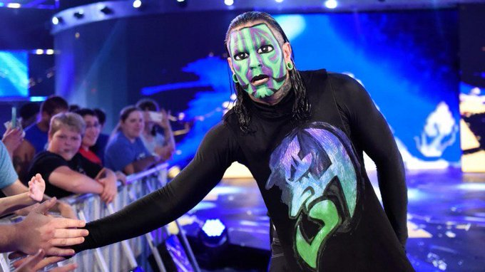 "The AMP Crew would like to wish a Happy 41st Birthday to ""The Enigma\"" Jeff Hardy!"
